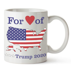 For love of country trump 2020 mug